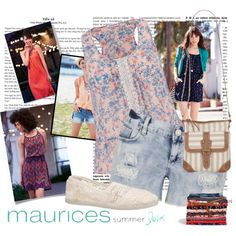 maurices Contest: Summer Lovin' by princesssarah123 on Polyvore featuring maurices