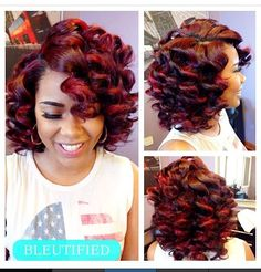 I gotta get this size wand so I can do these curls...Love!