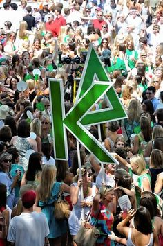 KD in green and white
