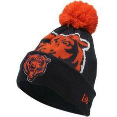945561d7bfc Chicago Bears Woven Biggie Cuffed Ski Hat by New Era