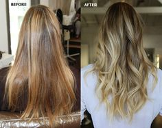Beautiful Baby Blonde color correction by Johnny Ramirez