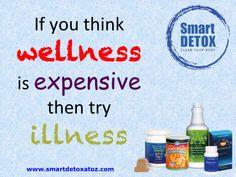 Apakah selama ini Anda berpikir bahwa menjaga kesehatan dengan rutin mengonsumsi suplemen adalah sesuatu yang mahal? Kalau iya, itu artinya Anda salah besar. Jika kita tidak melakukan pencegahan sedini mungkin kita justru akan keluar biaya yang jauh lebih mahal karena sudah terlanjur sakit. Tidak hanya dari segi finansial kita merugi, tetapi juga dari segi umur, dan kebahagiaan. Oleh karena itu jangan pernah tunda untuk hidup sehat. Smart Detox untuk kualitas hidup yang lebih baik.
