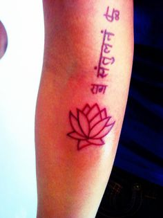 lotus tattoo for wrist