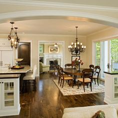 Arch ~  Open Floor Plan Design, Pictures, Remodel, Decor and Ideas - page 3