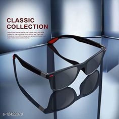 Checkout this latest Sunglasses Product Name: *Arzonai Trendy Black Wayfarer For Men* Frame Material: Fiber & Plastic Multipack: 1 Sizes:Free Size Country of Origin: India Easy Returns Available In Case Of Any Issue   Catalog Rating: ★3.8 (295)  Catalog Name: Fashionable Trendy Men Sunglasses CatalogID_2392347 C65-SC1226 Code: 691-12422879-963