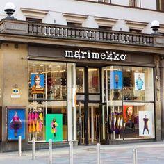 Marimekko myymälä Aleksinkulma Helsinki