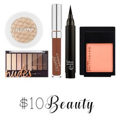 """Untitled #206"" by louisvuittonlovely ❤ liked on Polyvore featuring Maybelline and 10dollarbeauty"
