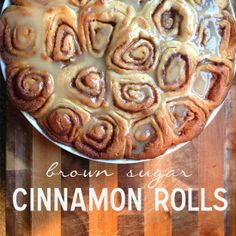 Brown Sugar Cinnamon Rolls | The Superettes