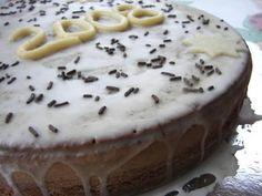 Μια πολύ νόστιμη βασιλόπιτα, σαν κέικ.