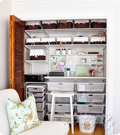 Operation: Organization--Organized Office by Dixie Delights |