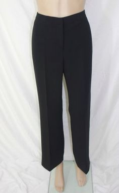 Women's Black Pant and Fully Lined Size 6P