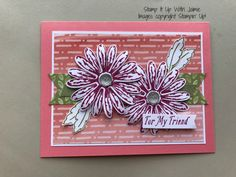 Daisy Delight Greeting – Stamp It Up with Jaimie