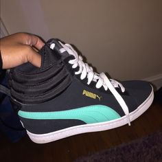 Puma wedged sneaker Worn once Puma Shoes Sneakers