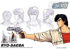 Film Anime, Manga Anime, Anime Art, Illustration Manga, Illustrations, Bd Comics, Anime Comics, Nicki Larson, City hunter