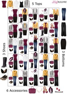 How to Get Dressed - A Fall Capsule Wardrobe