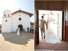 A Real Wedding at the Santa Barbara Historical Museum / Melissa Musgrove Photography / via StyleUnveiled.com -repinned from SB County, California marriage officiant https://OfficiantGuy.com #ceremony #officiant #sbweddingofficiants