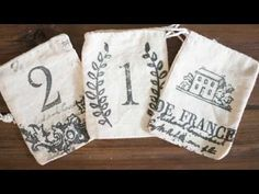 Need a holiday gift idea for neighbors and teachers? Look no further than these rustic sachets made beautiful with decor stamps. Easy step by step video tutorial on how to make them from start to finish with Iron Orchid Designs. Orchard Design, Iron Orchid Designs, Fabric Stamping, Idee Diy, Do It Yourself Home, Christmas Diy, Primitive Christmas, Holiday Gifts, Christmas Crafts