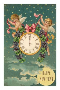 427 best vintage happy new year images happy new year vintage cards vintage postcards