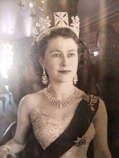 Queen Elizabeth, 1952.