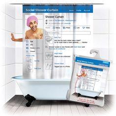 rideau de douche original 21 rideaux que vous allez adorer rideaux de douche douches et. Black Bedroom Furniture Sets. Home Design Ideas
