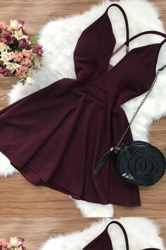 Hot Sexy Homecoming Dresses, Short Homecoming Dresses, Open Back Homecoming Dresses, V-neck Homecoming Dresses - Party Dresses and Party Outfits Sexy Homecoming Dresses, Hoco Dresses, Pretty Dresses, Sexy Dresses, Beautiful Dresses, Dress Outfits, Dress Up, Casual Dresses, Evening Dresses