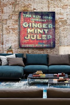 Cute sign for the living room.