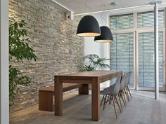 Natural Stone Wall In The Living Room – Make Country-style!
