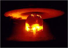 The United States Drops Hydrogen Bomb On Bikini