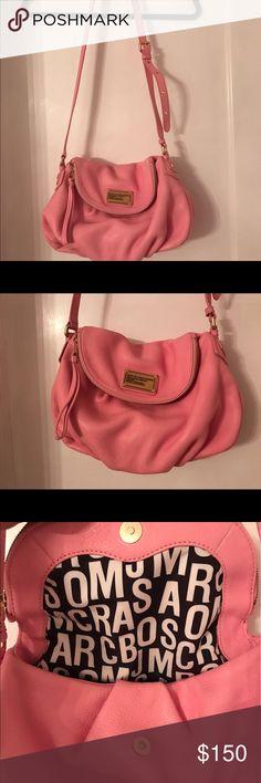 Marc Jacobs pink Natasha crossbody Like new! Marc by Marc Jacobs Bags Crossbody Bags