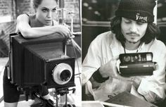Famous Hollywood Celebrities with their Cameras (30 Photos)
