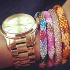 lily and laura handmade bracelets...LOVE!  Soon to be at Lavish!