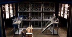 Scaffolding - Scaffolding --- #Theaterkompass #Theater #Theatre #Schauspiel #Tanztheater #Ballett #Oper #Musiktheater #Bühnenbau #Bühnenbild #Scénographie #Bühne #Stage #Set