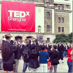 Most recent blog post TEDx Shanghai from Kirsty Whyte