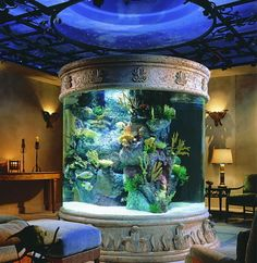 Fantastic And Incredible Design Of This Aquarium That We Upload Whenever You Want To Make The As An Attraction Fo