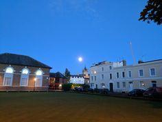 Cheltenham at night