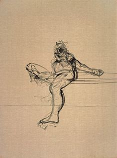 'Seated Figure'   Francis Bacon