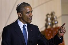 """Obama tries to drum up Jewish support at D.C. synagogue - NY Daily News 