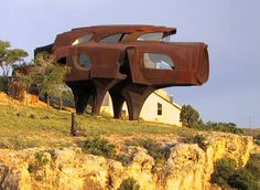The Steel House in Texas, USA