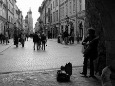 A typical scene in Krakow
