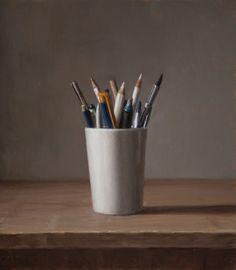 Still Life - Pencils by Harry Holland