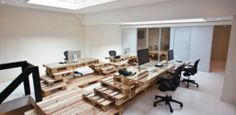 Brandbase Pallet Office by Most Architecture | GBlog
