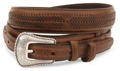Nocona leather ranger belt - reg & big available at #Sheplers