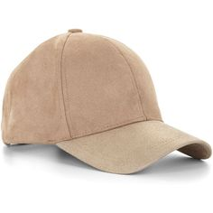 Metallic Faux-Suede Baseball Cap (57 BAM) ❤ liked on Polyvore featuring accessories, hats, baseball hats, metallic hat, baseball cap, ball caps and baseball caps hats