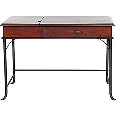 Z-Line Designs Charleston Desk, Rich Harvest Cherry
