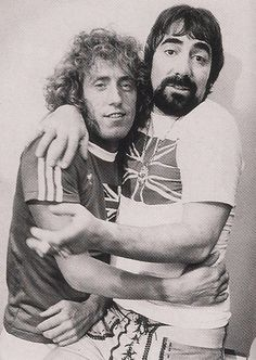 Roger Daltrey and Keith Moon of The Who