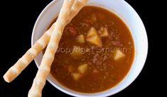 En mycket god soppa som går snabbt att laga.