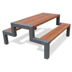 Custom steel picnic table. Can be made in any color combination and size. Default size is 6x3 table top.