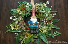 Gnome wreath