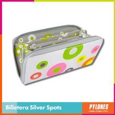 #Billetera Silver Spots #DíaDeLaMujer  Pylones Colombia