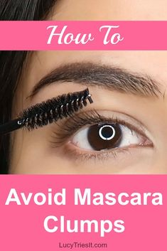Wondering how to apply mascara without clumping for a cleaner look? Here are a few quick tips on how to apply your mascara to avoid clumpy lashes! Skin Care Regimen, Skin Care Tips, Beste Mascara, Beauty Hacks For Teens, How To Apply Mascara, Applying Mascara, Benefit Mascara, Apply Eyeliner, Makeup Blog